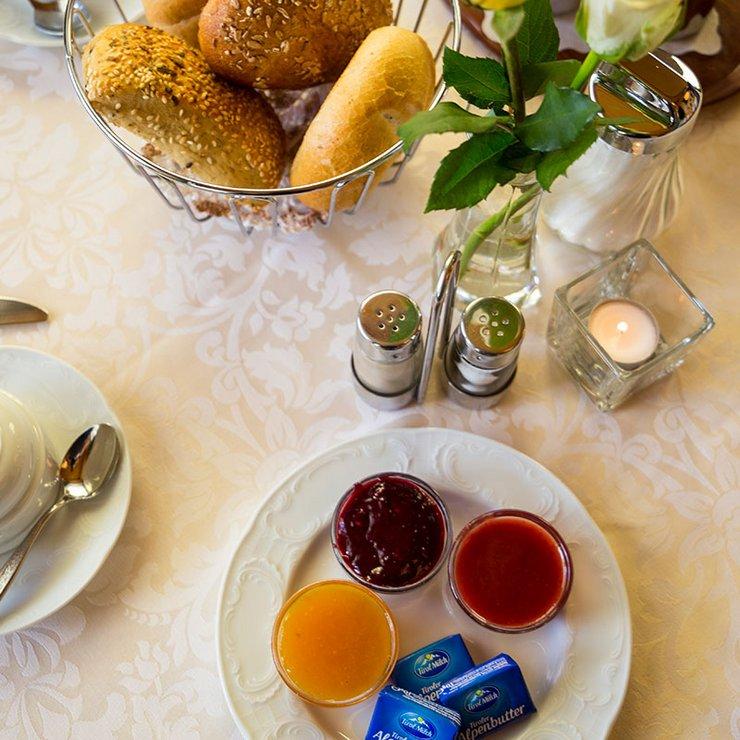 Frühstücksgenuss, auch für Nicht-Hotelgäste